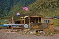 Tienda del recuerdo del nativo americano en el Gran Cañón imagen de archivo libre de regalías