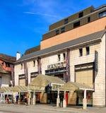 Tienda del señorío en Aarau, Suiza Fotos de archivo