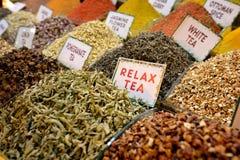 Tienda del té Foto de archivo libre de regalías