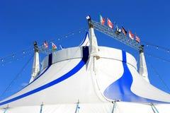 Tienda 2 del top grande del circo Imagen de archivo libre de regalías