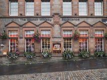 Tienda del whisky escocés, Edimburgo Fotografía de archivo