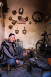 Tienda en Marrakesh Imágenes de archivo libres de regalías