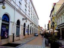 Tienda en Miskolc, Hungría Fotos de archivo