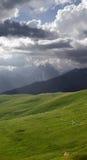 Tienda en montañas Imágenes de archivo libres de regalías
