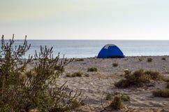 Tienda en una playa Foto de archivo