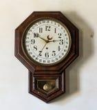 Tienda general y reloj viejos en Appomattox Fotografía de archivo libre de regalías