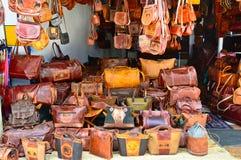Tienda handcrafted tradicional srilanquesa de las mercancías Imagen de archivo