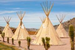 Tienda india nacional de indios americanos Imagen de archivo libre de regalías