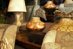 Tienda interior del boutique del diseño del mobiliario Fotografía de archivo