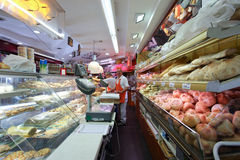 Tienda italiana de la panadería fotografía de archivo libre de regalías