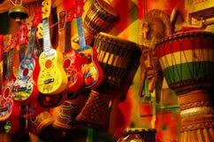 Tienda musical Imágenes de archivo libres de regalías