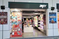 tienda 3nity en el kveekoong de hong Fotografía de archivo libre de regalías