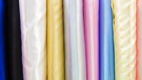 tienda para los materiales de la ropa Imagen de archivo libre de regalías