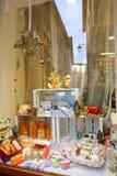 Tienda para los productos orgánicos Imagen de archivo libre de regalías