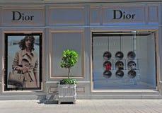 Tienda principal de Christian Dior, Viena, Austria Imagen de archivo