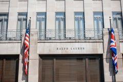 Tienda principal de Ralph Lauren Foto de archivo