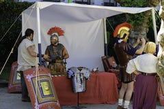 Tienda romana Arde Lucus fotos de archivo