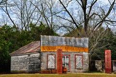 Tienda rural abandonada Imagen de archivo