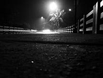 Tienda un puente sobre en la noche 2 Fotos de archivo