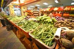 Tienda vegetal en la poca India, brickfields, Kuala Lumpur, Malasia Imagen de archivo libre de regalías