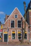 Tienda vieja de la panadería en el centro histórico de Groninga Imágenes de archivo libres de regalías