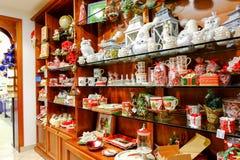 Tienda y juegos dulces Foto de archivo