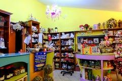 Tienda y juegos dulces Foto de archivo libre de regalías