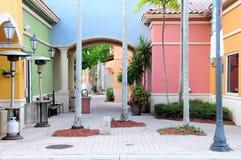 Tiendas al por menor en la Florida del sur fotografía de archivo