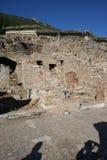 Tiendas bíblicas de Ephesus Imagen de archivo libre de regalías