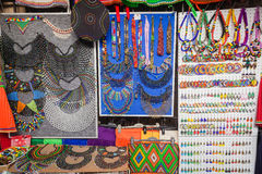 Tiendas comerciales de la joyería africana   Fotografía de archivo