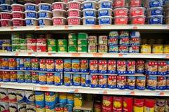 Tiendas de comestibles chinas Fotos de archivo