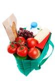 Tiendas de comestibles en el bolso de Reuseable Fotografía de archivo libre de regalías