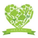 Tiendas de comestibles orgánicas Imagen de archivo