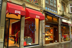 Tiendas de Estambul Imágenes de archivo libres de regalías