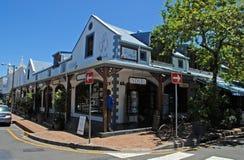 Tiendas de regalos africanas, Stellenbosch, Suráfrica imágenes de archivo libres de regalías