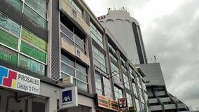 Tiendas en Kuching Sarawak Malasia Foto de archivo