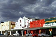 Tiendas en Livingstone, Zambia imágenes de archivo libres de regalías