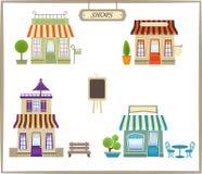 Tiendas lindas Imagen de archivo