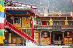 Tiendas tibetanas Imagen de archivo