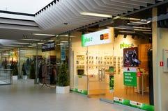 Tiendas y tiendas Foto de archivo libre de regalías