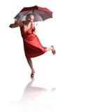 Tiener danser royalty-vrije stock foto's