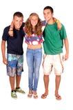Tiener en jongens stock afbeelding