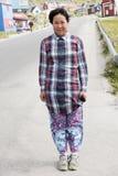 Tiener in Groenland stock foto's