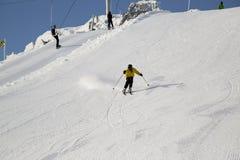 Tiener het ski?en Stock Foto's