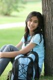 Tiener Klaar voor Middelbare school stock foto's