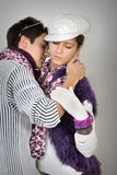 Tiener in liefde Royalty-vrije Stock Foto