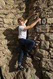 Tiener met Karakter in Girona, Spanje royalty-vrije stock fotografie