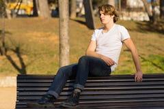Tiener met Karakter in Girona, Spanje Royalty-vrije Stock Afbeelding