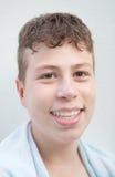 Tiener met vijftien jaar oud Stock Foto's