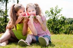 Tiener picknick Royalty-vrije Stock Afbeeldingen